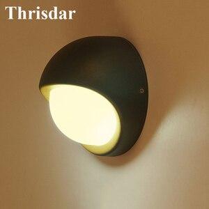 Thrisdar водонепроницаемый настенный светильник в скандинавском стиле для улицы, сада, крыльца, света, виллы, прохода, балкона, двора, фона, лест...