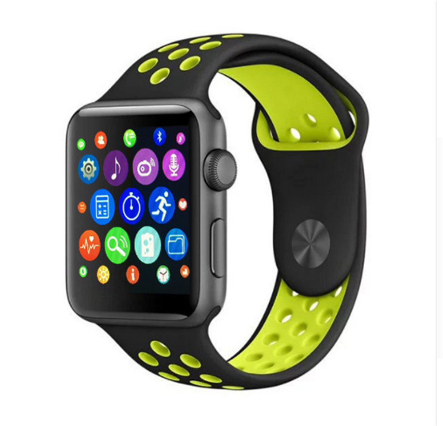 In Stock 2017 New Bluetooth Smart Watch iwo 2 with MTK2502C smartwatch clock for apple Samsung