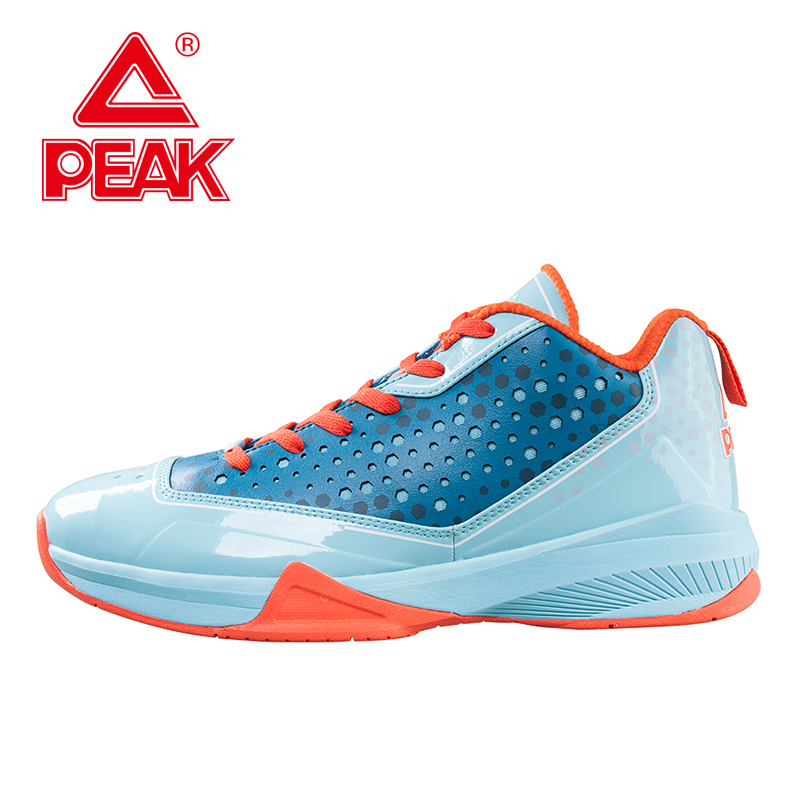 PEAK SPORT Men Basketball Shoes Breathable Non-Slip Outdoor Athletic Shoes Revolve Tech Lace Up Athletic Training Ankle Boots peak sport monster ii men basketball shoes foothold tech sneakers breathable training athletic durable rubber outsole boots