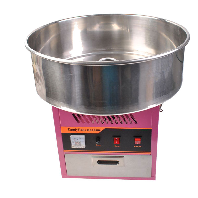 New Pink Electric Cotton Candy Machine  Floss Candyfloss Maker 1030W 1030w electric commercial cotton candy maker fairy floss machine stainless steel pink