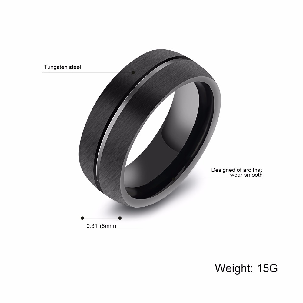 pls contact us before you leave neutral or negative feedback about vintage rings black tungsten ring for men tungsten wedding - Tungsten Wedding Rings For Men