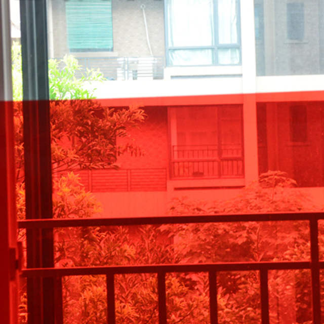 Red Window Tint >> Us 54 21 22 Off Magic Red Window Tint Film Home Office Hotel Nightclub Decorative Colored Window Film In Decorative Films From Home Garden On