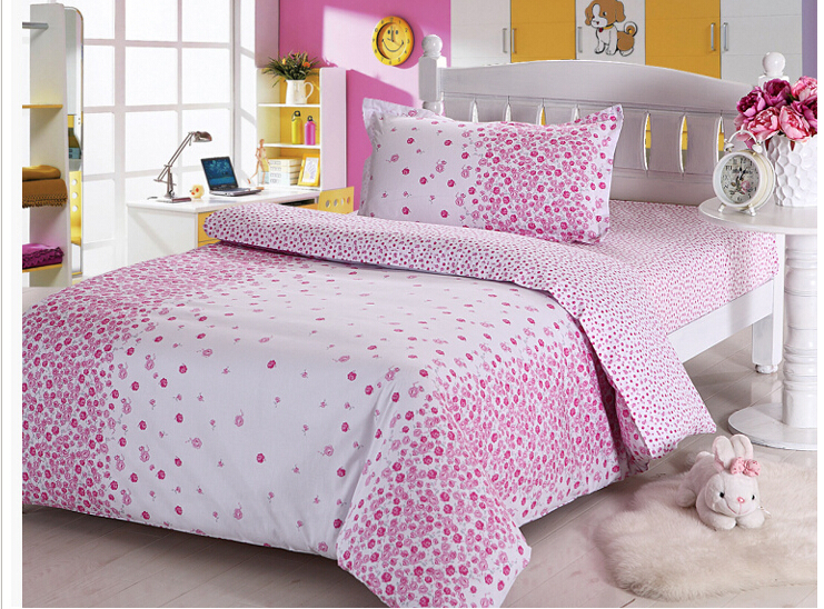 free shipping 2015 hot sale 100 cotton twin size kids 3pcs bedding set duvet cover bedclothes. Black Bedroom Furniture Sets. Home Design Ideas