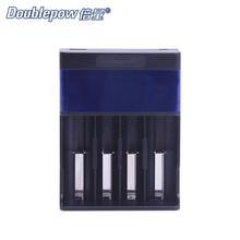 4 slots Doublepow DP-UK86 USB Indicador LCD Inteligente Carregador Rápido 1.2 V AA/AAA Ni-MH/Ni-CD 3.7 V Li-ion Bateria Recarregável