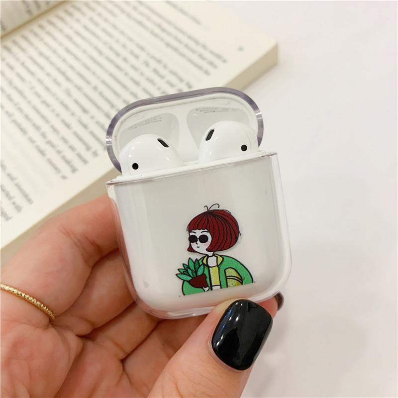 Funny Nostrils Pattern Case For AirPods Pro 12