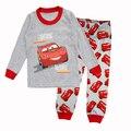 Bonito Dos Desenhos Animados Do Bebê Das Meninas Dos Meninos Dinossauro Carro Crianças pijamas Animal Pijamas Infantis Pijama define Roupa Das Crianças