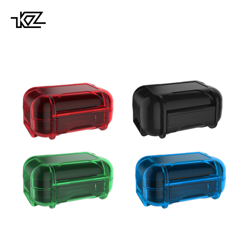 все цены на KZ New Headset ABS Resin Storage Box Colorful Portable Hold Storage Box Suitable For Original Headphones Moisture-proof and dust