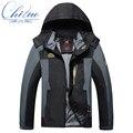 Primavera otoño chaquetas de los nuevos hombres de gran tamaño L-4XL 5XL6XL7XL8XL impermeable a prueba de viento hombres de Ocio sección Delgada chaqueta de la capa
