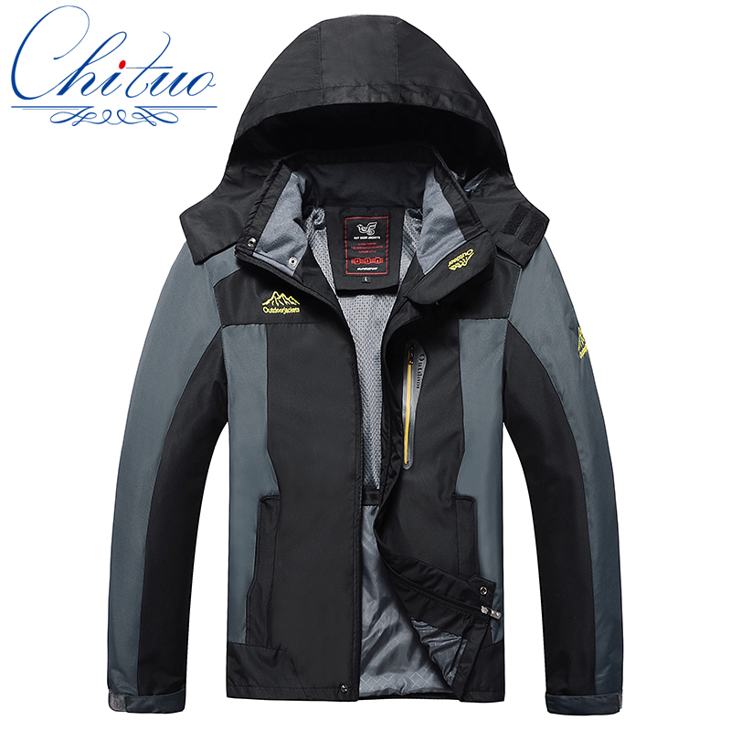 spring autumn new men s jackets large size L 4XL 5XL6XL7XL8XL waterproof windproof Men s Leisure