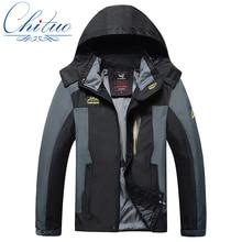 Весна осень новый куртки мужские большой размер L-4XL 5XL6XL7XL8XL водонепроницаемый ветрозащитный мужская Досуг Тонкий срез пальто куртки