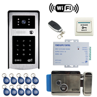 JEX Wifi Video Door Phone Doorbell Smart Wireless Door Phone Remote Control Unlock Access Power Controller