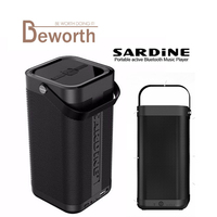 Sardine A9 Bluetooth Speaker Wireless 16W Super Bass Stereo Boombox Subwoofer Outdoor Loudspeakrs Home Theatre TF