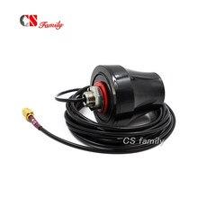Antena celular exterior ip67 impermeável da eficiência elevada 698 mhz 960 mhz/1710 ~ 2700 mhz 4g com macho de sma