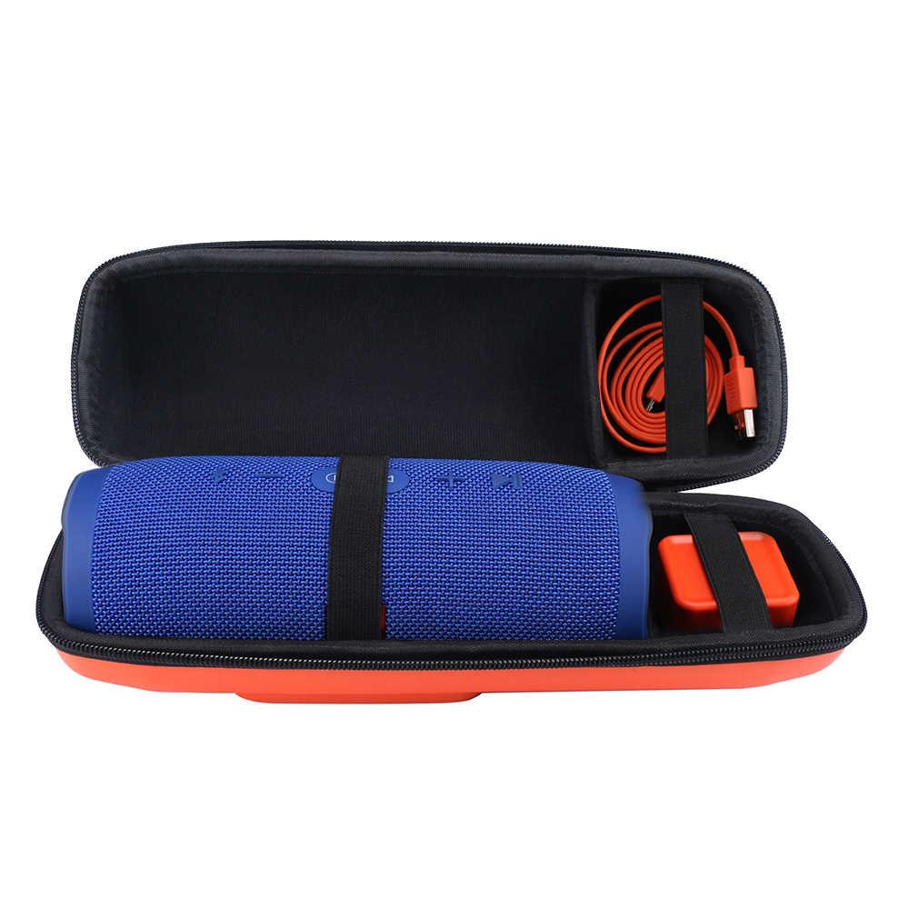 Новый жесткий чехол EVA для путешествий, чехол для хранения, сумка, чехол для JBL Charge 3 Charge3 Pulse 2, динамик, дополнительное место для подключения и кабелей