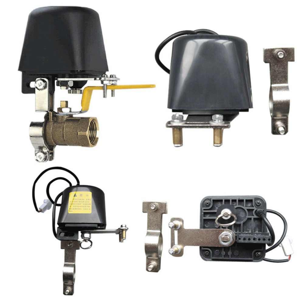 Automatic Manipulator Shut Off Valve For Alarm Shutoff Gas Water Pipeline Security Device For Kitchen & Bathroom