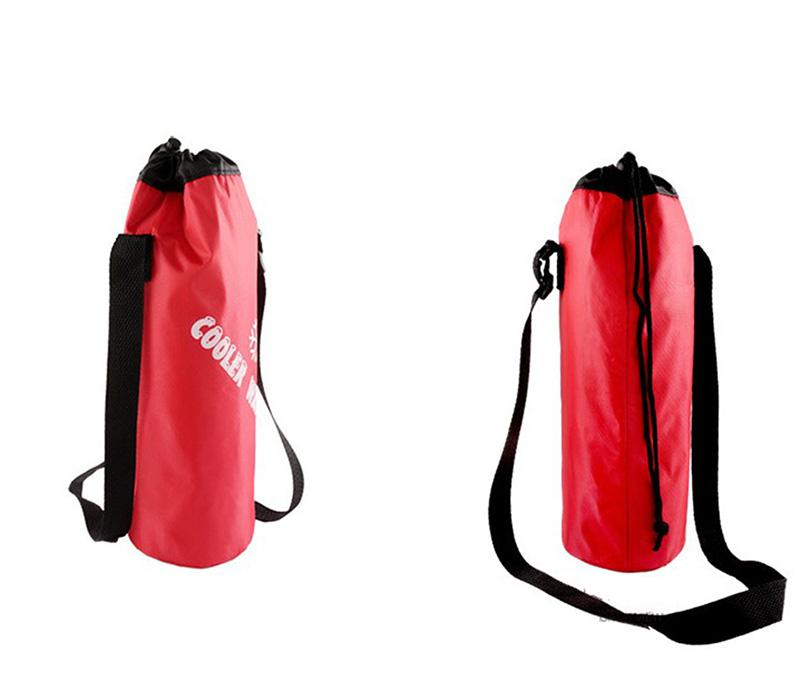 Mounchain Water font b bag b font Universal Drawstring Water Bottle Pouch High Capacity Insulated font