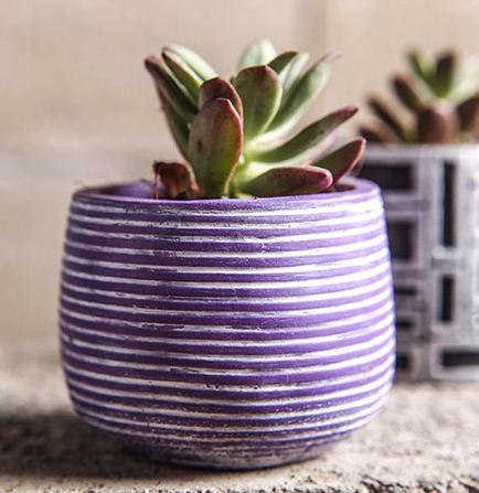 Silikagel silikonová forma 3d váza Multi masová rostlina cementové květináče Evropský styl multi květináče forma