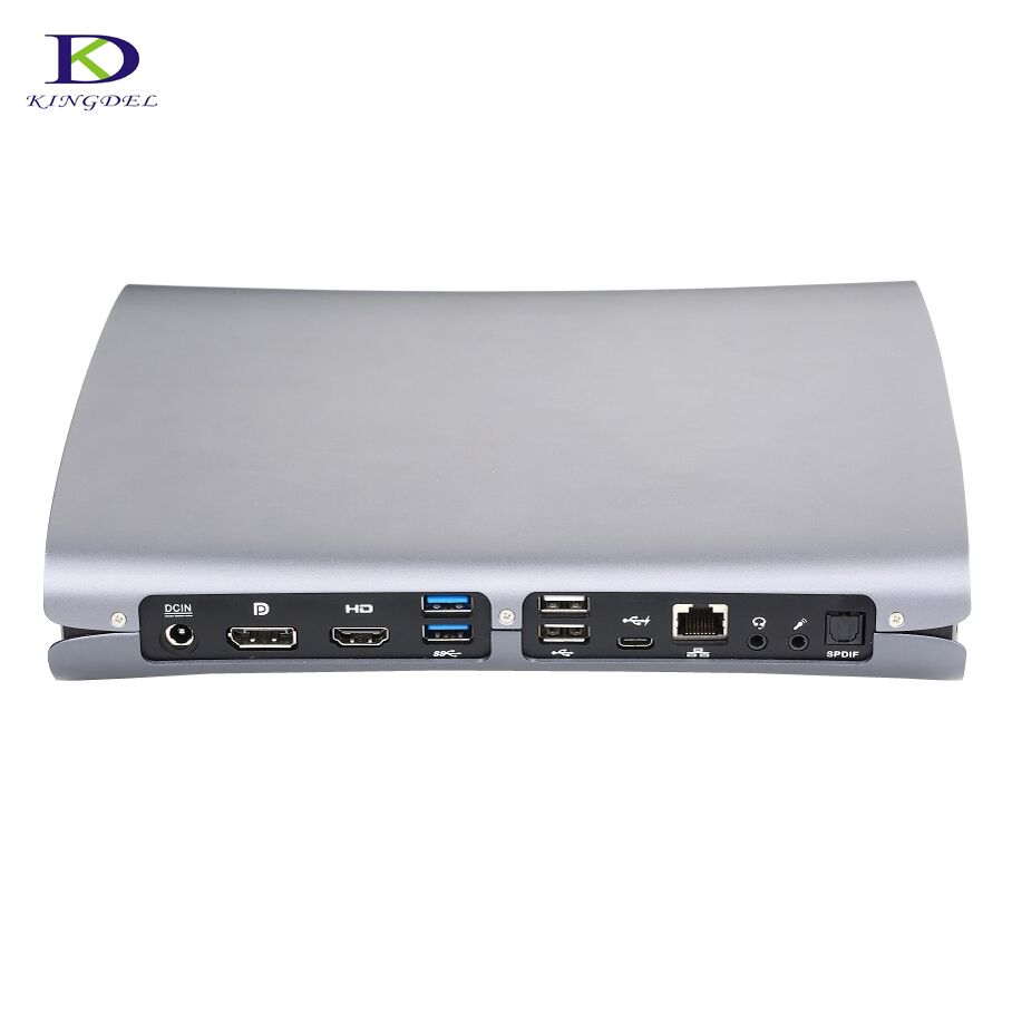 Kingdel Dedicated Card Quad Core I7 6700HQ Game Killer Mini PC 5G Wifi Low Noise Fan GDDR5 Ram 1*HDMI 1*DP 1*Type-C S/PDIF PC