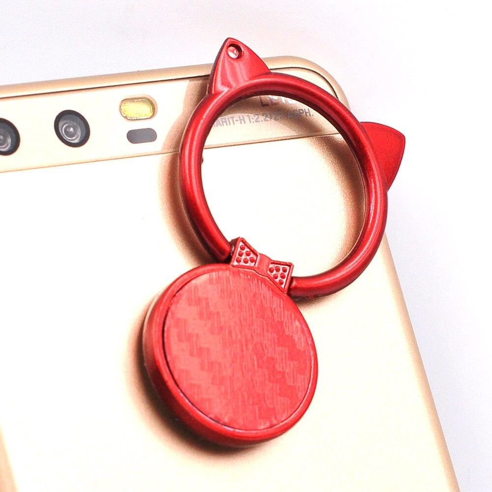 Cat 360 градусов Поворот палец кольцо пряжки подставка держатель поп-мобильный телефон Подставки для iphone Универсальный всех смартфонов крепл…