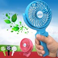 USB Mini Fan Rechargeable Li Battery Portable Foldable Handheld Mini USB Labtop Desk Fan  Big Wind