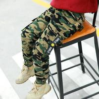 Children Pants For Boys Clothes Pants Cotton Casual Sports Kids Trousers Child Camouflage Clothing 2019 Summer Autumn Costume 12
