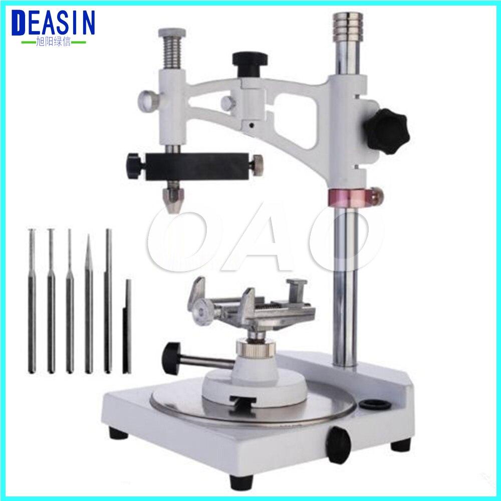 Visualiseur d'arpenteur de laboratoire dentaire entièrement réglable Observation parallèle de Base carrée d'équipement de laboratoire dentaire populaire
