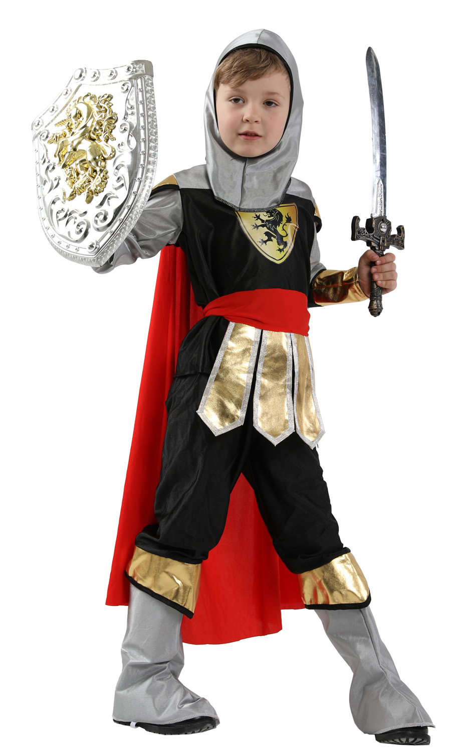 Costumes & Accessories Novelty & Special Use Armour Set Anime Cosplay For Kids Weapon Set Warrior And Sword Knight Vestidos Costumes For Children In Halloween Carnival Party