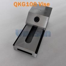 QKG100 плоский нос прецизионные тиски для поверхностного шлифования, фрезерный станок, edm машина, высокая точность 0,005 мм/100 мм