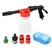 CARGOOL Professional Snow Foam Wash Gun Car Adjustable Foam Blaster Low Pressure Car Wash Pressure Washer Washing Gloves