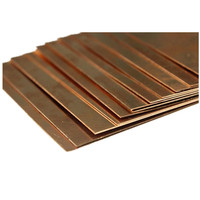 1pc New 99.9% Pure Copper Cu Metal Sheet Plate Foil Panel 200*200*2.5mm For Industry Supply