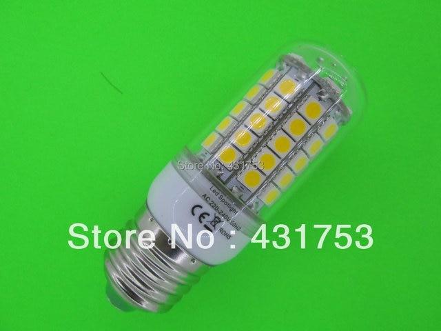 E27 Chip 69 LED Cool White Light Bulb Lamp 220V 12W ( High Brightness ) lights for home 5050 SMD