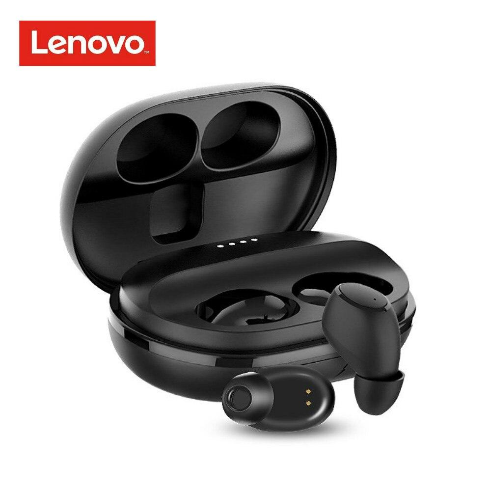 Lenovo Bluetooth Earphone Sport Headset Waterproof Ipx5 Business Tws Wireless V5.0 Original