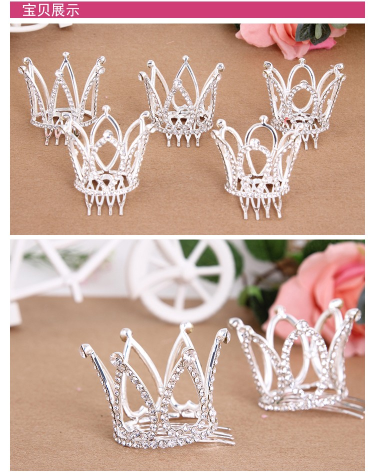 HTB15Y9FNXXXXXXdapXXq6xXFXXXq Dainty French Rhinestone Crystal Mini Tiara Hair Accessory For Girls/Women