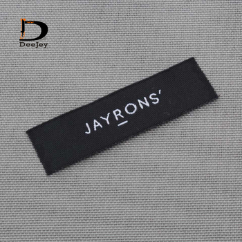 Custom brand clothing labels private logo woven labels and tags 1000pcslot peugeot 307 aksesuar