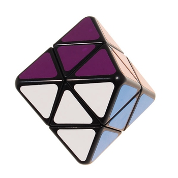 Brand New IQ Test Octahedron Magic Cube Speed Puzzle Cubes Educational Toys For Kids Children mo yue guo guan yue xiao 3 3 3 black magic cubes puzzle speed rubiks cube educational toys gifts for kids children