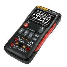 Цифровой мультиметр aneng Q1 9999 отсчетов True RMS Авто/ручной диапазон AC/DC Вольт Ампер Ом Емкость Частота Температура тестер