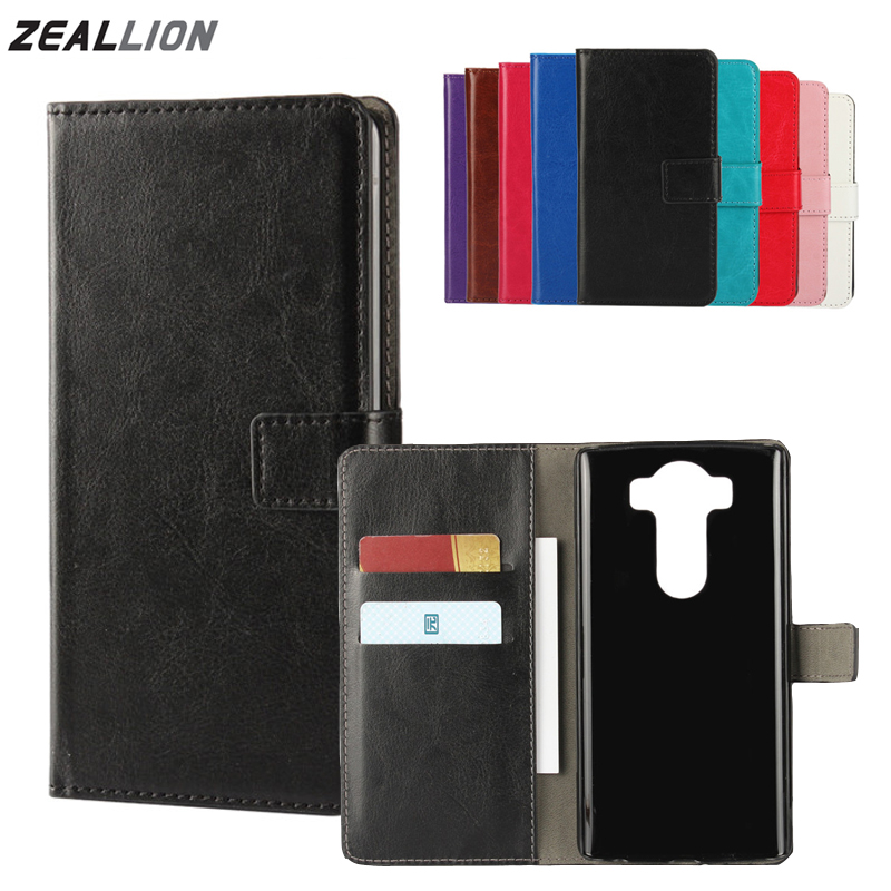 ZEALLION For LG G2 G3 G4 G5 K7 K10 V10 V20 L70 L80 L90 Leon C40 Case Wallet Holster Flip Crazy-Horse Leather Cover image