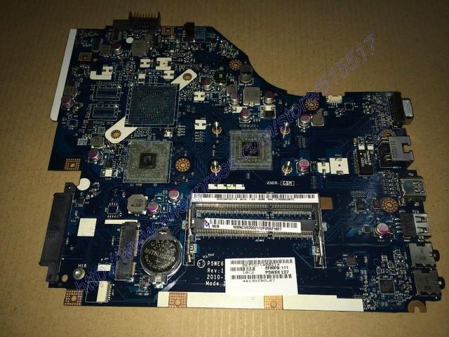 El envío libre nuevo para acer 5253 5250 nv51b notebook motherboard p5we6 la-7092p placa principal