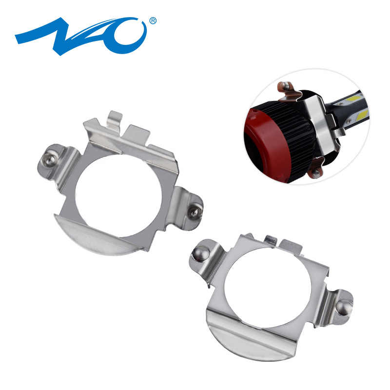 NAO H7 LED Headlight Bulb Retainer Adapter Holder for BMW X5 AUDI A3 A4 H7 Bulb Adaptor Base for VW Buick NISSAN Mercedes-Ben