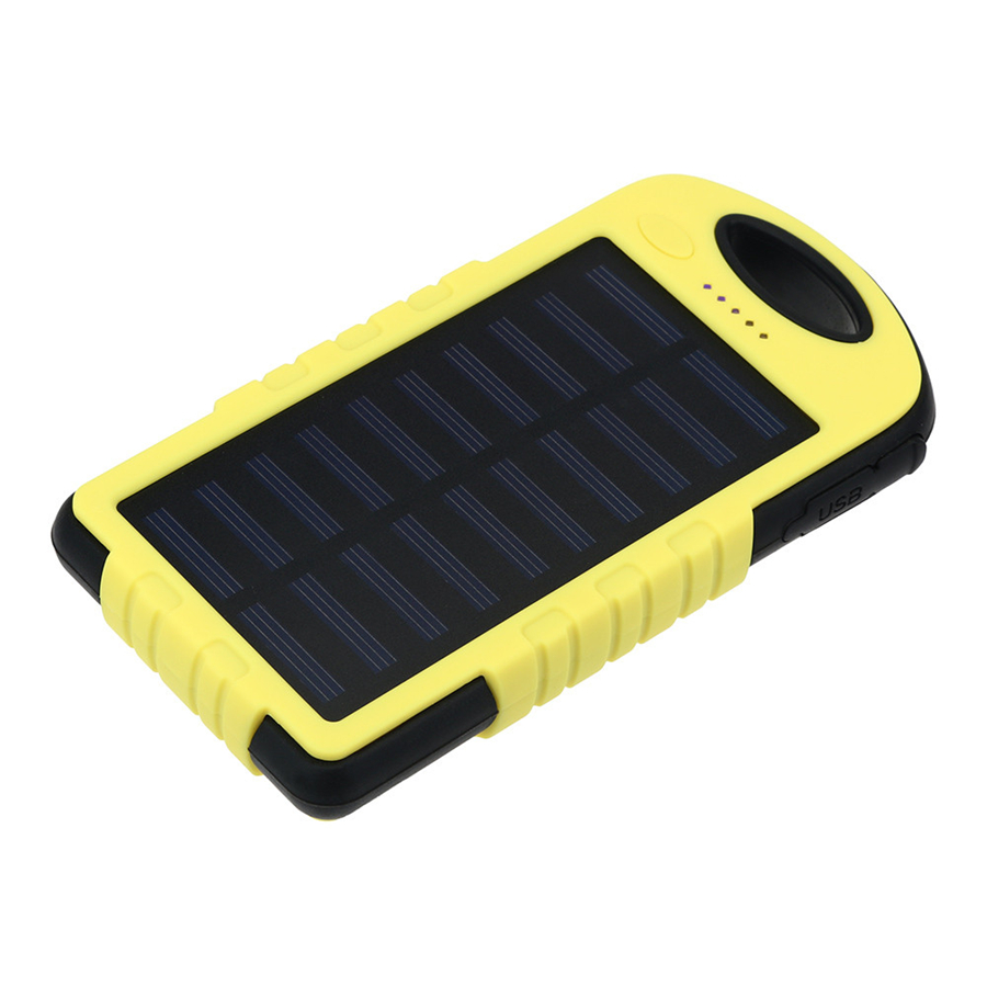 16000 mAh Portable Waterproof Solar Charger Dual USB External Battery Power Bank For Cell Phone Accessories USB Cable dual usb output universal thunder power bank portable external battery emergency charger 13000mah yb651 yoobao for electronics