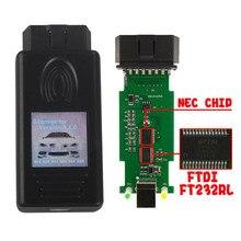 2019 좋은 칩 FT232RL 스캐너 1.4.0 진단 스캐너 OBD2 코드 리더 BMW 1.4 USB 진단 인터페이스 잠금 해제 버전