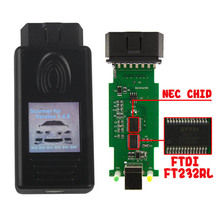 2019 טוב שבב FT232RL סורק 1.4.0 אבחון סורק OBD2 קוד קורא עבור BMW 1.4 USB אבחון ממשק נעילת גרסה