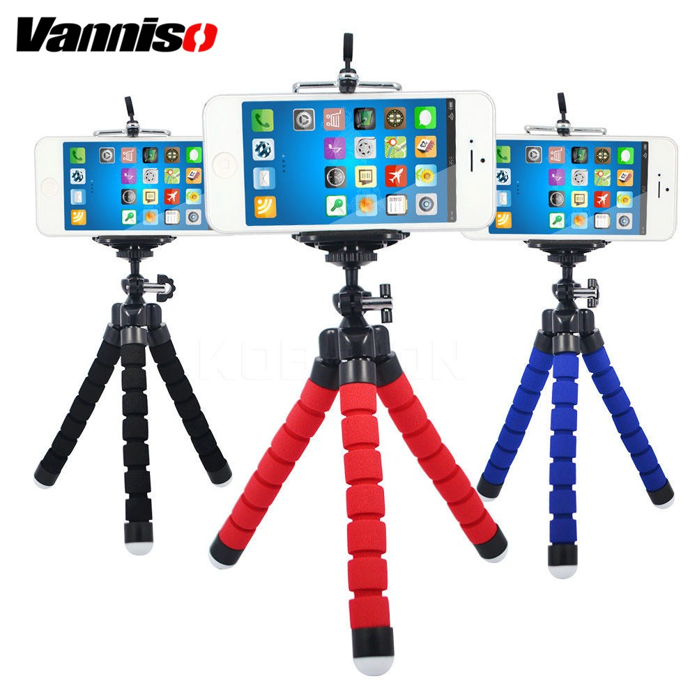 Cellphones & Telecommunications Flexible Octopus Tripod Phone Holder Expanding Stand Mount Monopod Styling Accessories For Mobile Phone Camera Universal Desk Mobile Phone Accessories