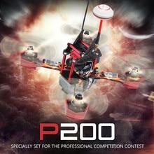 JJRC JJPRO-P200 5.8G FPV Mini Drone Quadcopter RTF ARF Multicopter Baling-Baling 6 Channel 800TVL dengan Skyline 32 Acro RC pesawat