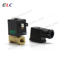 Normally Closed N/C DC 12V G1/8' DN2.0 Brass Gas Fuel Water Burner Hot water Water Electromagnetic Valve Solenoid Valve