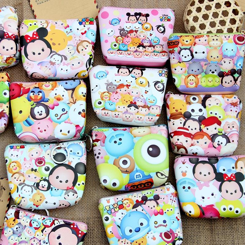 Diaper Bags Disney Cartoon Mickey Mouse Donald Duck Lady Cute Plush Bag Messenger Card Holder Purse Coin Women Shoulder Bag Doll Let Our Commodities Go To The World Baby Care