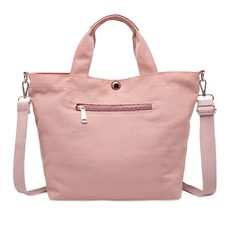 FONTO Casual shoulder bag for Women Oxford cloth crossbody bag Large tote fashion simple Female hand bag