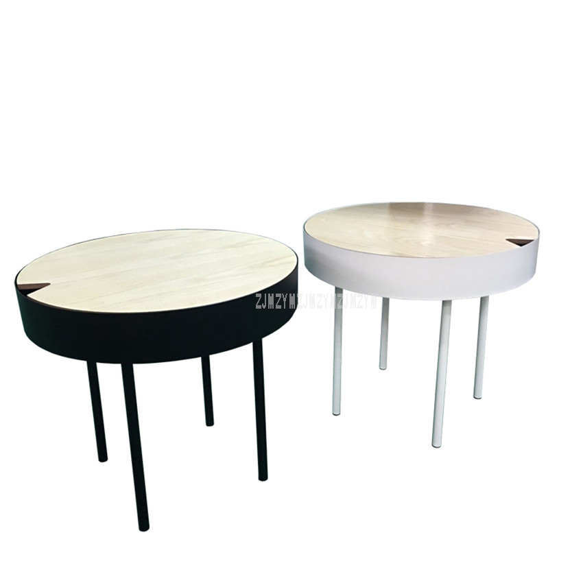 Stupendous European Style Modern Round Tea Coffee Table Simplicity Creative Living Room Bedroom Corner Small Round Sofa Side Table 50Cm Pabps2019 Chair Design Images Pabps2019Com