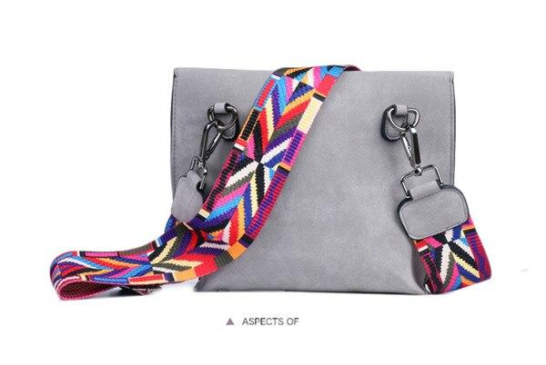 Women's Bag Scrub PU Crossbody Bags Luxury Handbags Women Bags 28