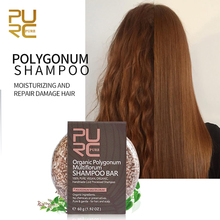 Organic Polygonum Shampoo Bar 100% PURE And Handmade Cold Processed Hair No Chemicals Or Preservatives
